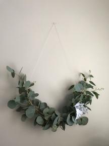 Eucalyptus Christmas Wreath
