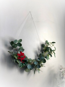 Christmas Eucalyptus Wreath