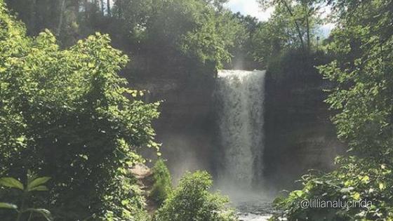 Minnehaha falls minnesota