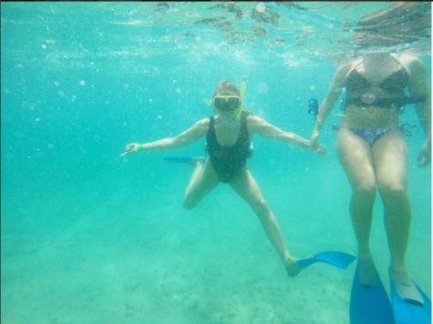 Snorkeling in Jamaica. @lillianalucinda