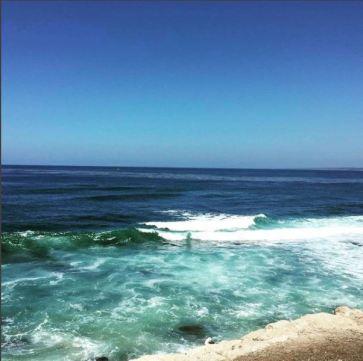 San Diego La Jolla Coast @lillianalucinda