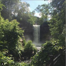 Minnehaha Falls Minneosta