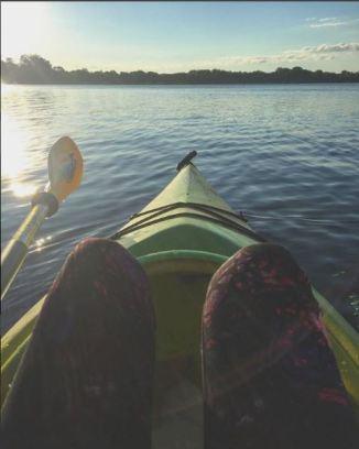 Morning on French Lake @lillianalucinda