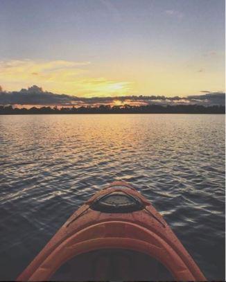 Sunrise on Lake Jennie @lillianalucinda