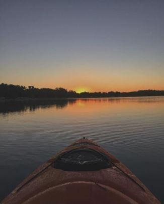 Sunset on Lake Eerie @lillianalucinda